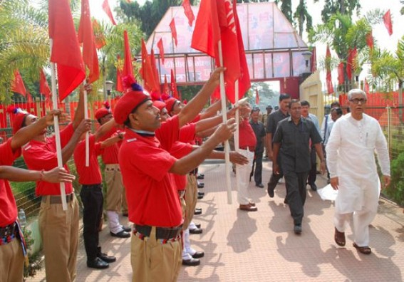 CPI-M's planned policy is to paralyze the State employees with the backing of boot-licker employees' organ