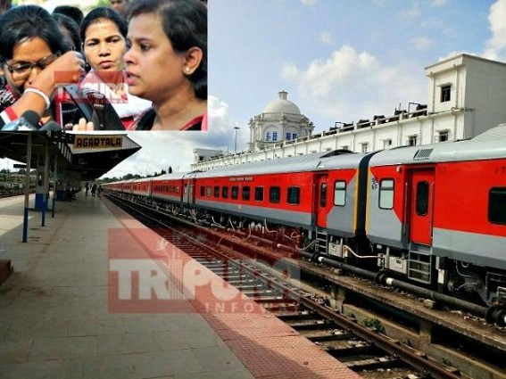 Tripura 2017 : Modi gifts Rajdhani Express, Manik Sarkar gifts Fake 12000 Jobs & 10323 Teachers Job cancellation