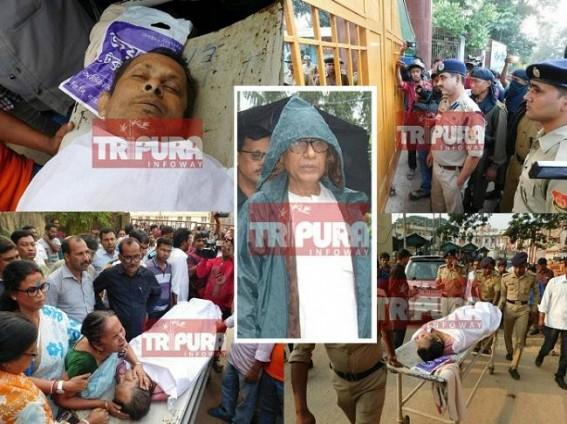 'Raping Democracy' in Manik Sarkar's style
