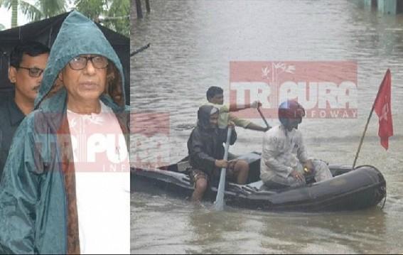 Agartala Flooding 2017 : Manik's blind vision, AMC's corruption