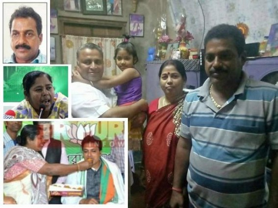 Crime Queen Pratima, JUMLA Cheat Biplab ruining Tripura via Organized Extortion, Corruption