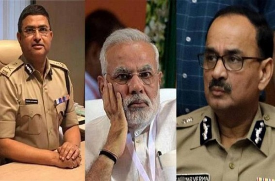 Modi Govt on the backfoot in the CBI affair