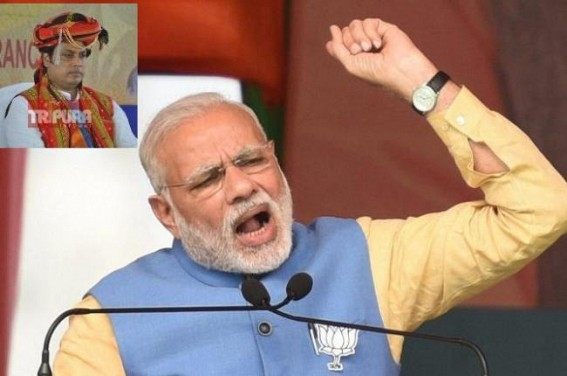National to International 'CLOWN' : PM Modi's 'Motormouth' burden Biplab Deb tarnished BJP's image Globally