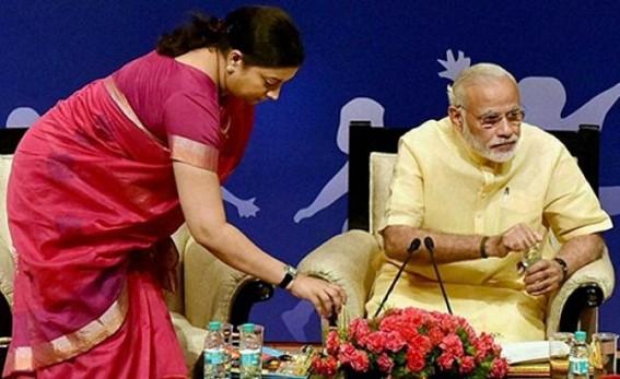 Narendra Modi saves BJP from Smiriti Irani's misadventure