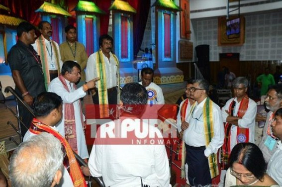 State Education Minister's insult by Corrupt VC : Tripura University under chaos