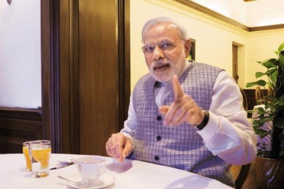 April 2017: Earliest India will get its cash back : PM Modi