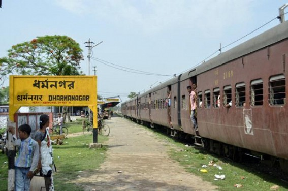 Cancellation of trains from Puja days raises discontent among the people