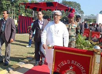 Chief Minister paid tributes to new war memorial at Lichubagan. TIWN Pic Dec 16
