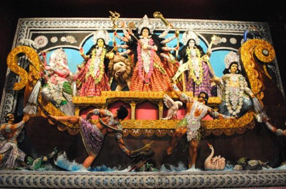 State celebrates Mahashasti : 2335 Puja Pandals across the State