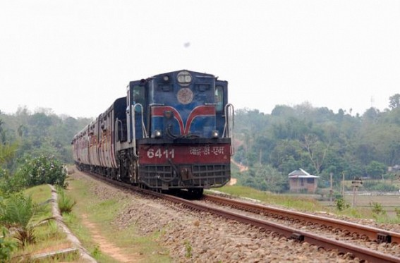 Train services suffer setback in landslide