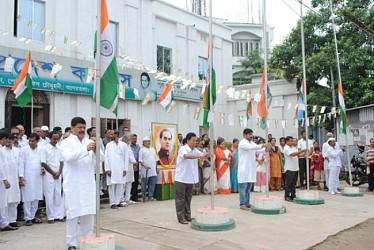 PM Rajiv Gandhi 70th Birth Anniversary observance at Congress Bhavan. TIWN Pic Aug 20