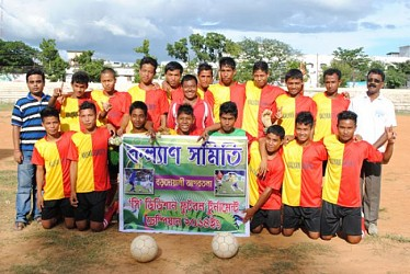 Winner of Football Superleague- Kalyan Samiti. TIWN Pic July 30