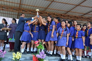 Auxilium Girls' School celebrates Annual sports day. TIWN Pic Dec 19