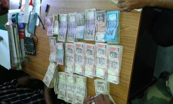 Huge amount Bangladeshi, Indian currency recovered in Sonamura  by SDM, BSF team