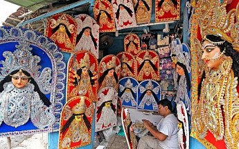 Indian Museum's heritage, modern 3D idols to mark Durga Puja