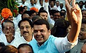 Devendra Fadnavis sworn in as chief minister of Maharashtra