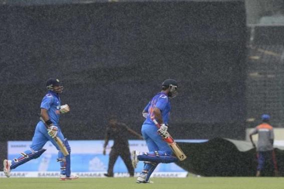 Rain forces India-England ODI to be abandoned