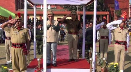 Republic Day celebration at Kailashahar. TIWN Pic Jan 26
