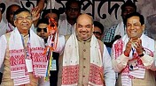 Only BJP can free Assam from illegal immigration: Amit Shah