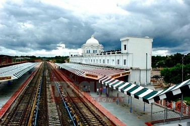 A view of Agartala Railway station. TIWN Pic July 25