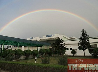 A view of Agartala Airport. TIWN Pic Feb 11