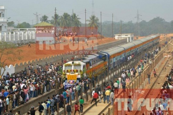 BG Passenger Trial train service in Agartala-Silchar route begins from May 2; Regular service to be delayed by a month