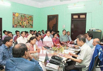 ICA dept. held review meeting. TIWN Pic July 25