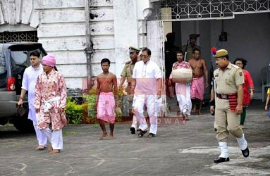 Ker puja observed at Royal Palace. TIWN Pic July 26