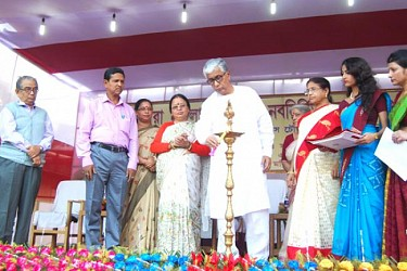 TCW new building inaugurated at Agartala.TIWN Pic Dec 2
