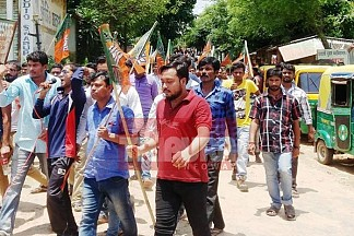 Tripura College Education cripples ahead of Poll-2018 : SFI/ ABVP clashes continue statewide, security tightened at Udaipur College