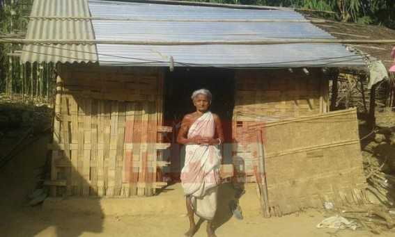 Old persons deprive of pension schemes in Tripura