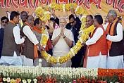 Demonetisation: Hard work won over Harvard, says Modi