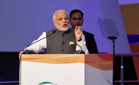 Want to make India global diamond trading hub, says Modi