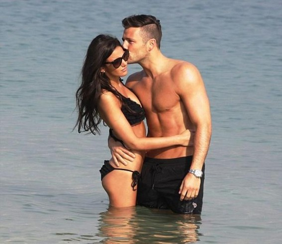 Michelle Keegan, Mark Wright cosy up for selfie