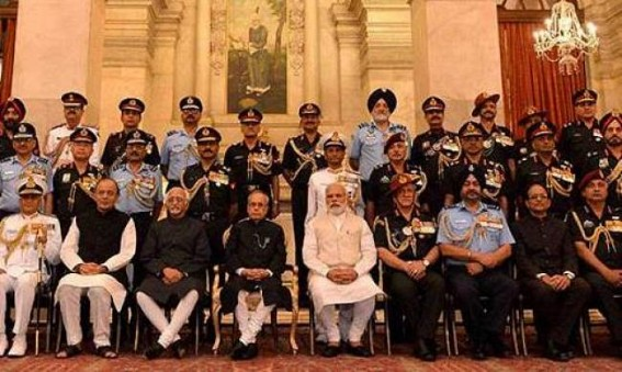 President honours surgical strike heroes with gallantry awards