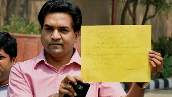 Kejriwal has nexus with hawala traders: Kapil Mishra