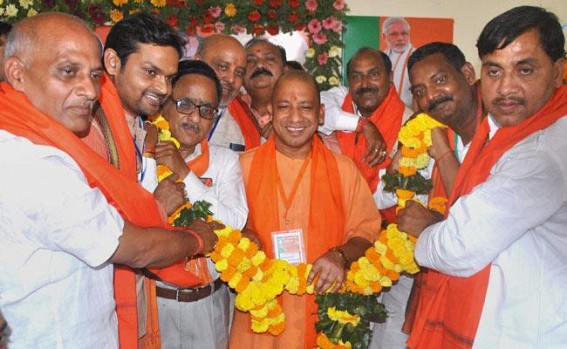 Adityanath slams opposition for pandemonium in assembly