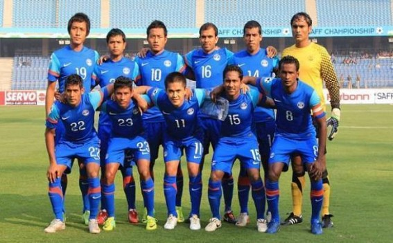 Football: India to play Nepal on June 6