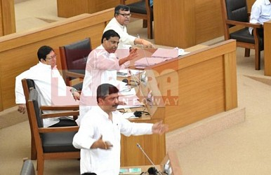 Assembly busy in debate-session. TIWN Pic May 23