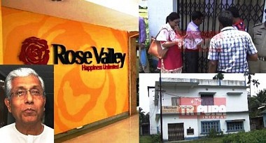 Chit Fund companies still blooming  Manik's Valley : Jailed Ashok Saha inaugurated Kailashahar Rose Valley property sealed after 8 yrs of inauguration