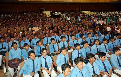 Google & Siemens jointly organised an Interact program with BAHRA University at Rabindra Bhawan. TIWN Pic June 22