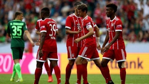Bayern Munich clinch fourth Telekom Cup