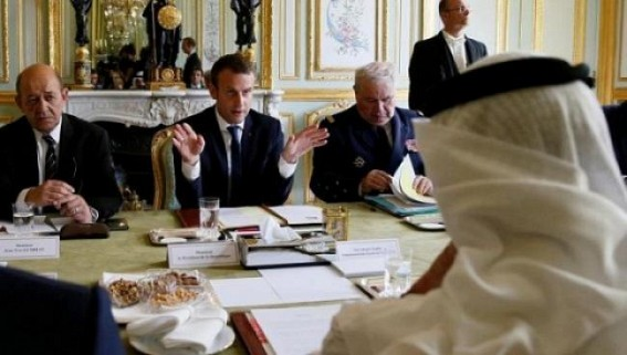 French FM in Saudi Arabia over Qatar crisis