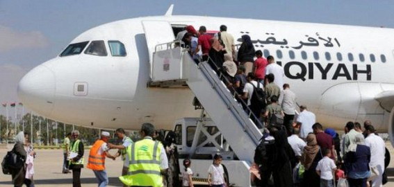 Benghazi airport reopens after three years