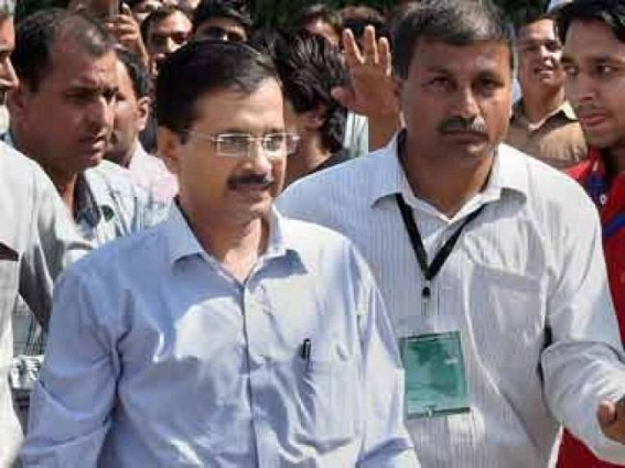 Kejriwal casts vote in Presidential election