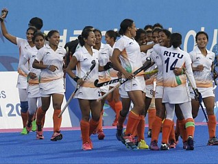 Japan beat India at women's HWL