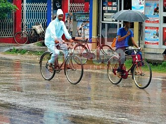 Rain showers Tripura. TIWN Pic July 26