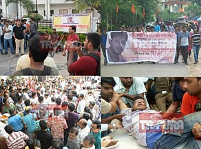 Manik Sarkar's 'dramabazi' exposed from Anuwara to Santanu murder : A vociferous protester in Rohit Vemula & Gauri Lankesh issue but a mute spectator in ghastly murders across Tripura, demand for CBI investigation intensifies to expose Police