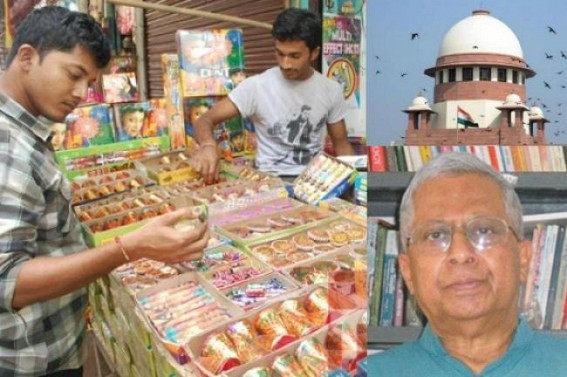 Tripura Governor slams SC's ban on Firecrackers on Hindu Festival, says, 'Teaching cruelty to children, pollute their minds much worse than polluting air 2/2'