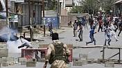 Five protesters injured in J&K firing
